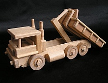 wooden toys truck lorry