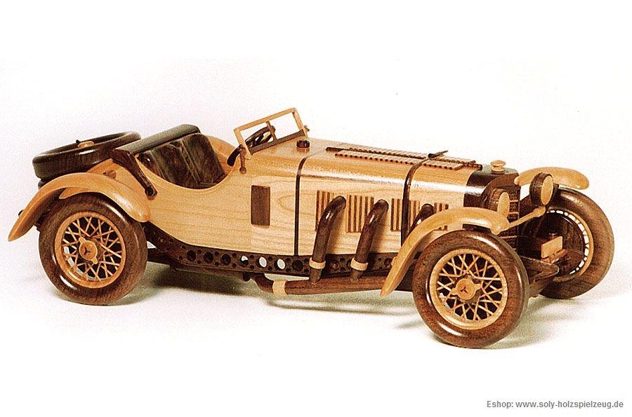 Mercedes Benz SSKL SPORT (1931) wooden modell - Wooden ...
