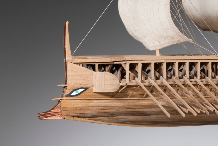 athenian trireme It is an enticing thought that some of the athenian triremes that fought against the  persians at salamis in 480 bc were most probably housed in.
