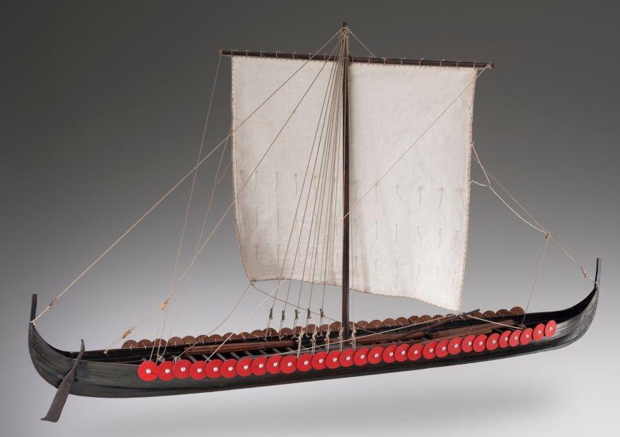 Viking Longship 135 Ship Kit Wooden Gifts Soly