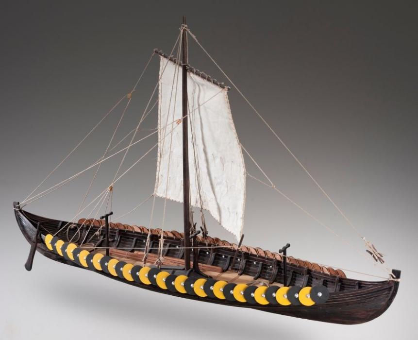 Viking Gokstad 135 Models Ship Kits Wooden Gifts Soly
