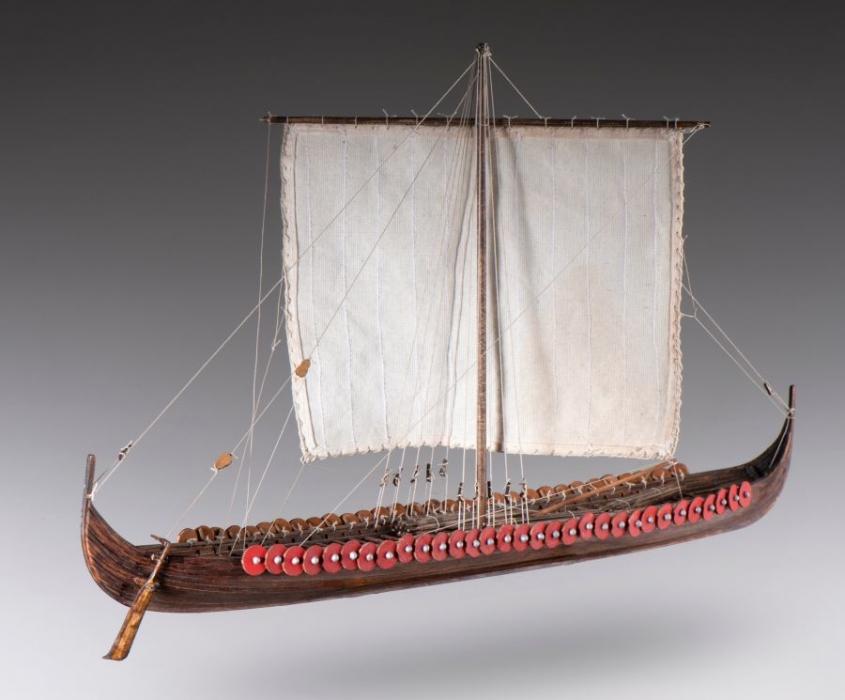Viking Longship 172 Ship Models Wooden Gifts Soly