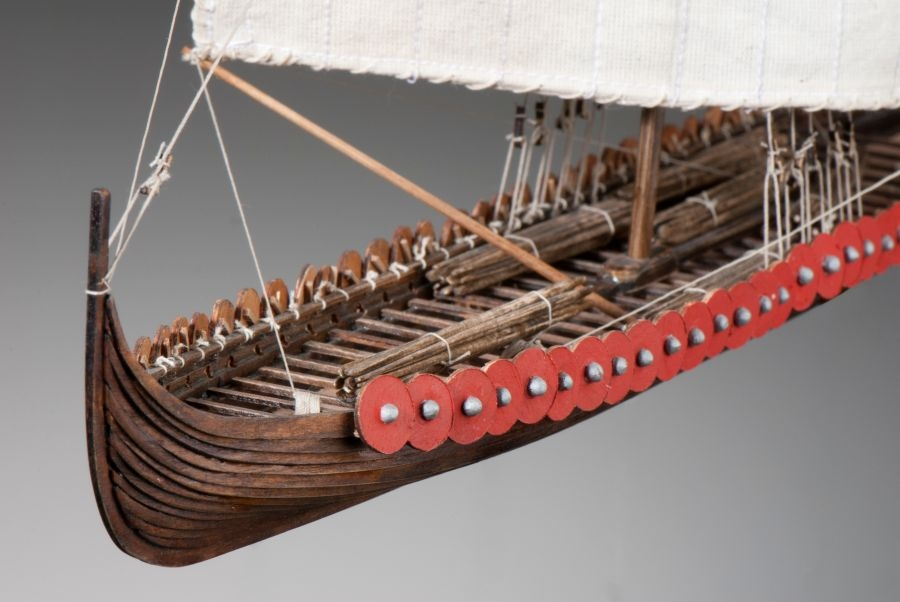 Wooden Viking Ship Model Plans Plywood Layout Boat Plans