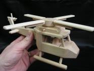 Houten Helikopter voor kinderen om te spelen