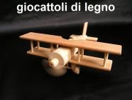 Aeromobili - giocattoli di legno