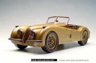 Jaguar SS 100 wooden modell
