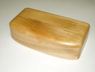 Handmade wood jewelry box - real wood