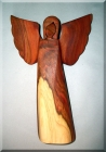 Angels wood sculpture from plum