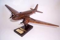 Airliner Douglas DC-3 (Dakota) wooden model