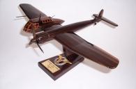 Blohm & Voss BV 141 wooden aircraft model