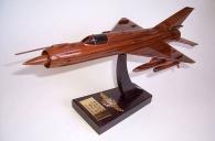 MiG-21 - Soviet Air Force - wooden aircraft model