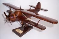 Antonov An-2 Soviet biplane wooden aircraft model