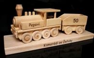 Locomotive cadeau, train