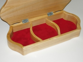 Handcrafted wooden jewelry boxes - Plymouth