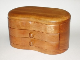 Timber jewelry boxes - Kingston