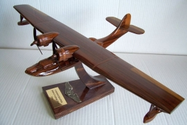 Wooden model U.S. Consolidated PBY Catalina
