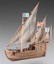 Nina Ship model kit of Christopher Columbus