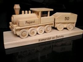 Steam locomotive gift, present