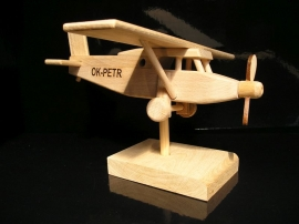 Gift plane Pilatus on stand