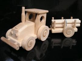 Traktor wooden toy for boy