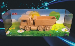 Dump trucks wooden cool toy