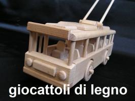 Filobus - giocattoli in legno per bambini