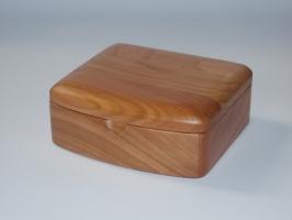 Handmade wood jewelry box - Coventry