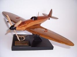 Spitfire Supermarine Spitfire Mk IX ESA aircraft wooden models
