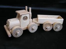 Camion mit Anhänger
