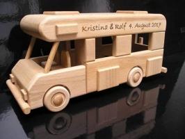 Caravan, camper van, wooden gift, toy