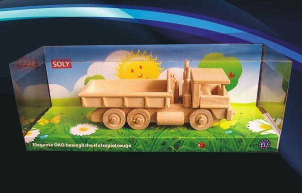 Mobile wooden truck TATRA