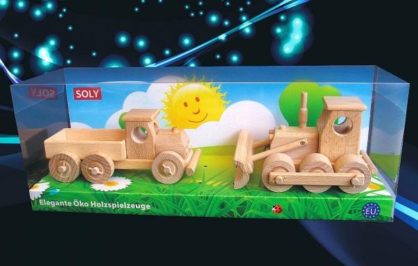 Bulldozer und construction vehicel wooden toys
