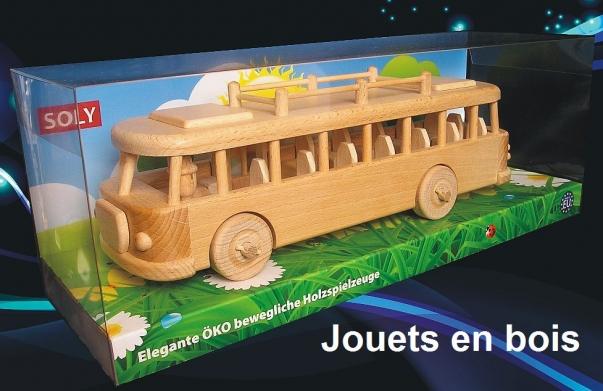 Bus ŠKODA  jouets en bois