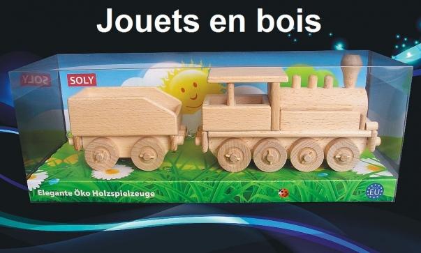 La locomotive - jouets en bois
