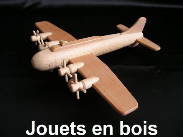 Bombardier B17 - jouet en bois