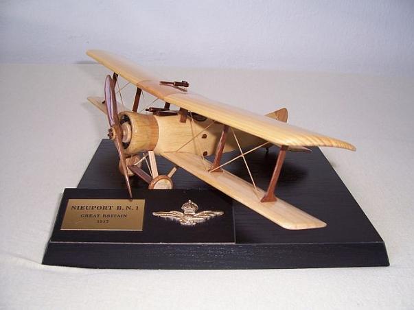 Nieuport & General B.N.1 aircraft wooden models