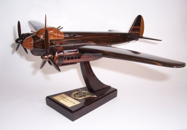 Junkers Ju 88 - wooden model German aircraft