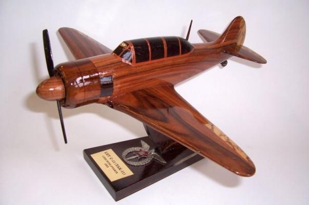 Airplane model Yakovlev Yak-11  trainer aircraft