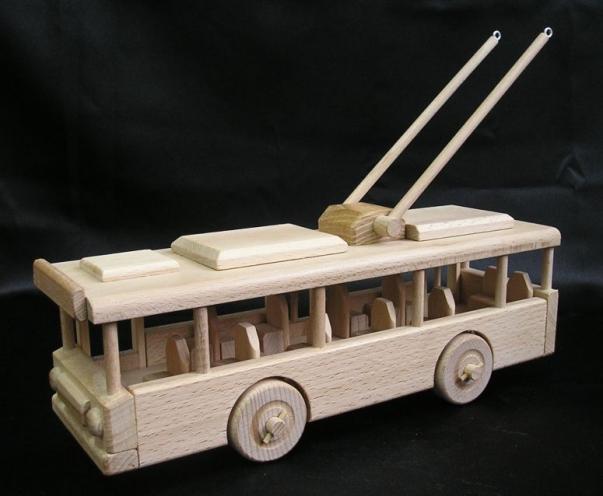 O-Bus Holz-Spielzeug Geschenk