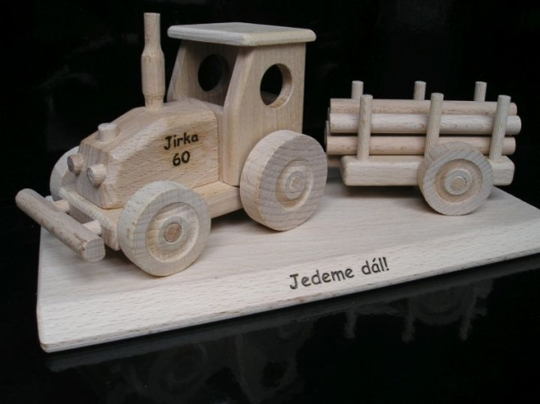 Tractor, gift for tractor driver, birthday driver