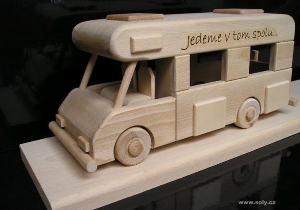 Gift caravan, camper van, motor home