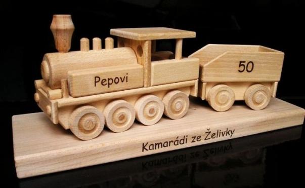 Regalo locomotiva, treno