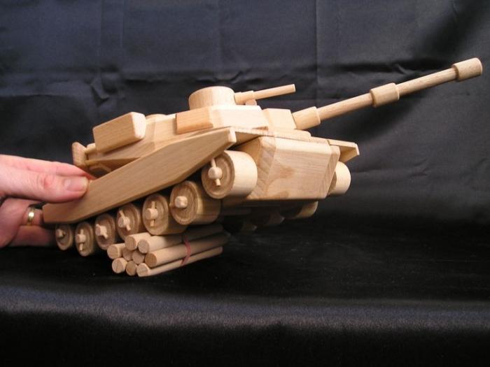 Dětský tank - americký.