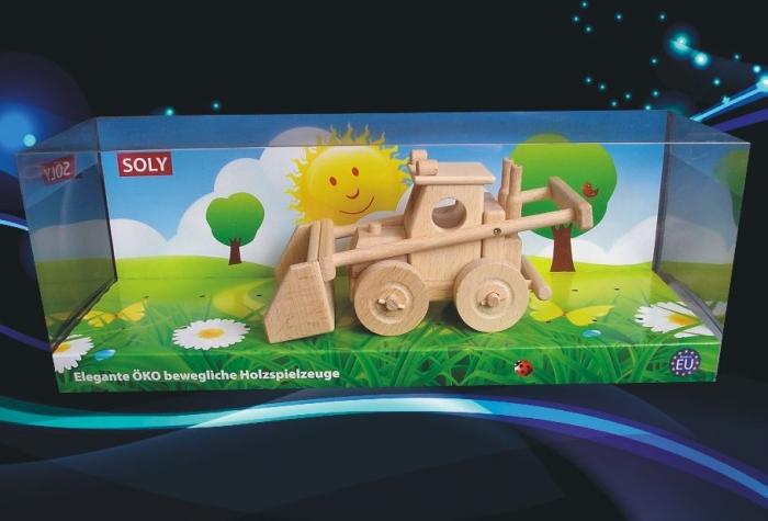 Loader farm tractor