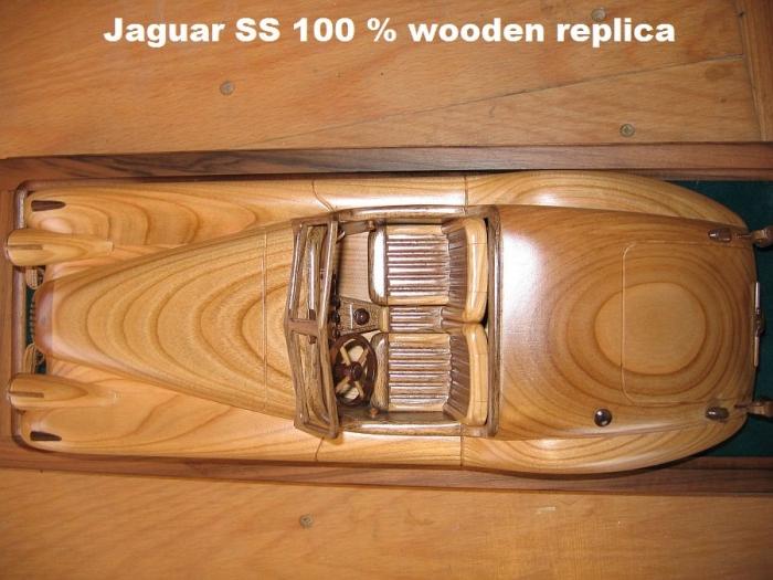 jaguar-replica-model