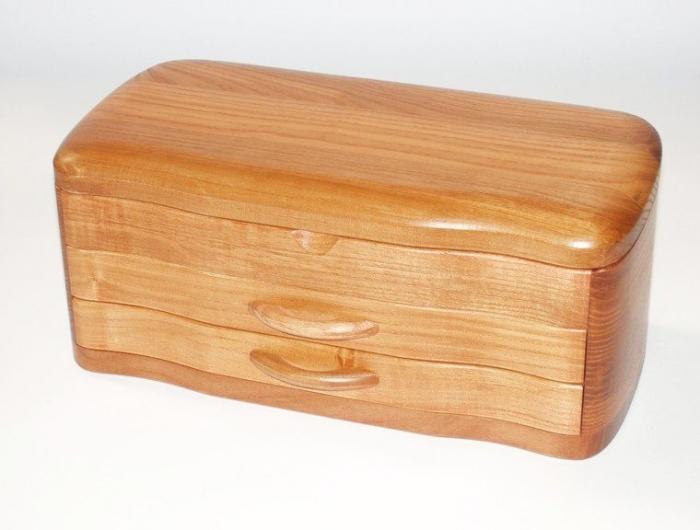 Timber jewelry box - Peterborough