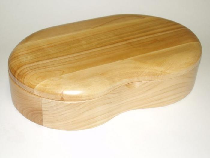 Handmade wood jewelry box - Birmingham
