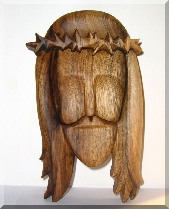 Wooden sculpture - the statue of Jesus Christ