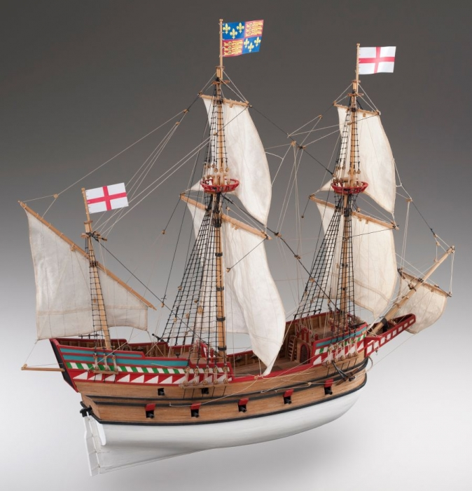 Golden Hind Ship Kit of Sir Francis Drake