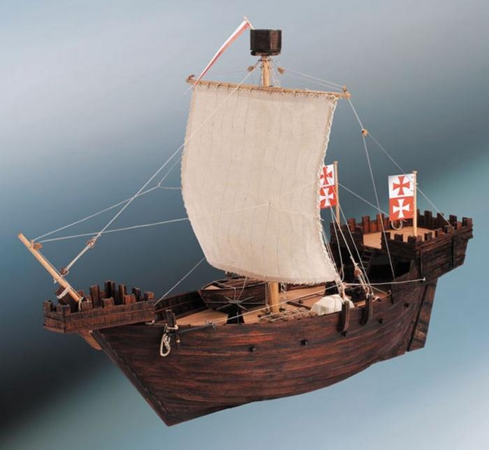 Ship wooden kit Hanse Kogge Hanseatic cog